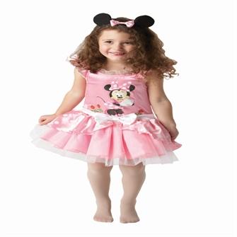 Image of Disney Junior Minnie Mouse Classic Pink Kostume (2-4 år)(Str. 98/T)