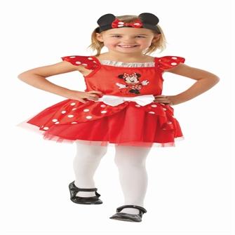 Image of Disney Junior Minnie Mouse Classic Rød Kostume (2-4 år)(Str. 98/T)