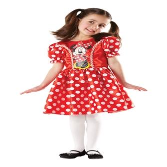 Image of Disney Junior Minnie Mouse Classic Rød Kostume (3-9 år)(Str. 116/M)