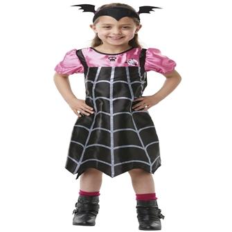 Image of Disney Junior Vamperina Kostume (2-6 år)(Str. 116/M)