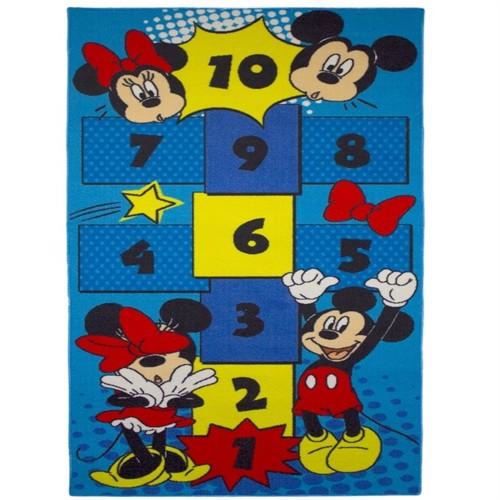 Image of Disney Mickey Minnie Hinke Børnetæppe 160X80