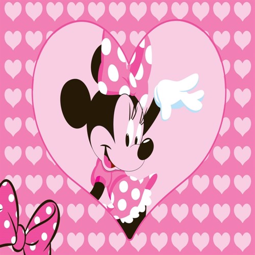 Image of Disney Minnie Mouse Børnetæppe 24, 95X133Cm