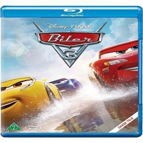 Image of Disney Pixar: Biler 3 Blu-ray (8717418510121)