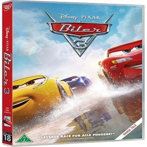 Image of Disney Pixar: Biler 3 DVD (8717418510077)
