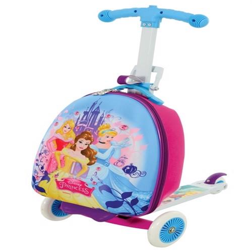 Image of Disney Prinsesse 3I1 Løbehjul Og Kuffert