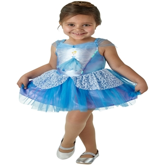 Image of Disney Prinsesse Askepot Ballerina Udklædningstøj (2-6 år)(Str. 104/S)