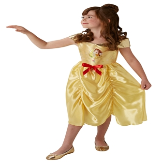 Image of Disney Prinsesse Belle Kostume til børn(Str. 98)
