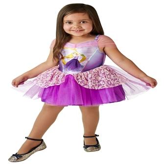 Image of Disney Prinsesse Rapunzel Ballerina Udklædningstøj (2-6 år)(Str. 116/M)