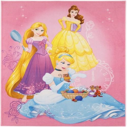 Image of Disney Prinsesser Deluxe Gulvtæppe Til Børn 95X125