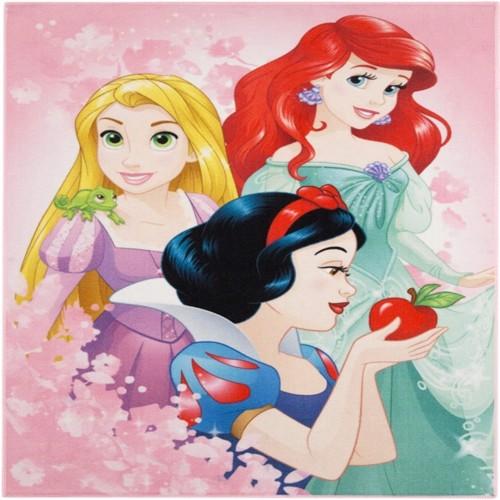 Image of Disney Prinsesser Forever Deluxe Gulvtæppe Til Børn 95X125