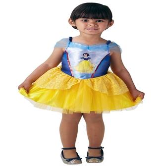 Image of Disney Prinsesse Snehvide Ballerina Udklædningstøj (2-6 år)(Str. 116/M)