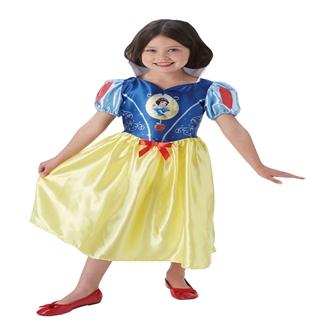 Image of Disney Prinsesse Snehvide Kostume til børn(Str. 128)