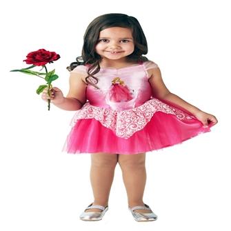 Image of Disney Prinsesse Tornerose Ballerina Udklædningstøj (2-6 år)(Str. 116/M)