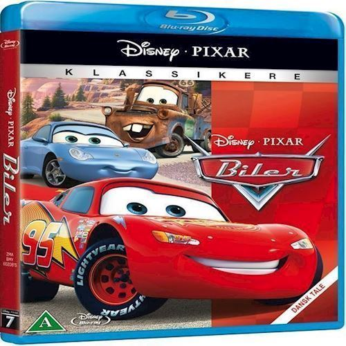 Image of Disneys:Biler Blu-ray (8717418303662)
