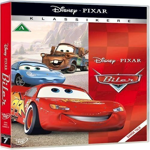 Image of Disneys: Biler DVD (8717418298289)