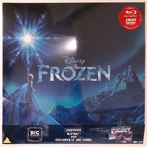 Image of Disneys Frozen Blu-ray Big sleeve edt (8717418520786)