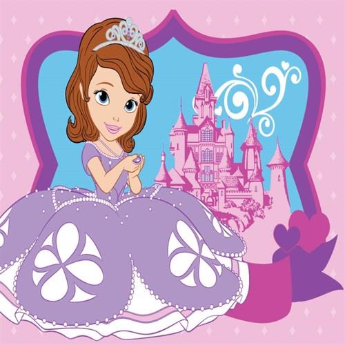 Image of Disney Sofia Den Første Børnetæppe 03, 95X133Cm
