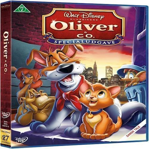 Image of Disneys Oliver & Company DVD (8717418200893)