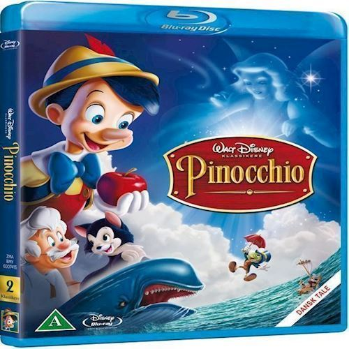 Image of Disneys Pinocchio Blu-ray (8717418192679)