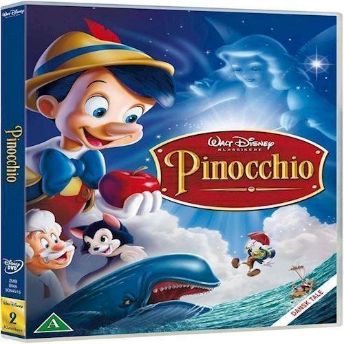 Image of Disneys Pinocchio DVD (8717418191962)