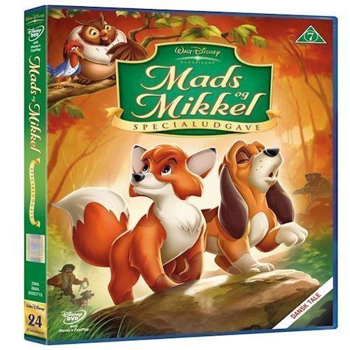 Image of Disneys: Mads Og Mikkel Special Edition DVD (8717418098698)