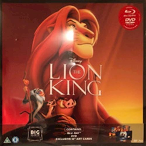 Image of Disneys The lion king Blu-ray Big sleeve edt (8717418520779)