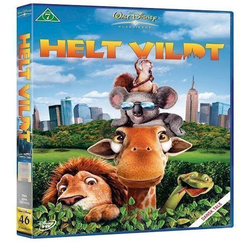 Image of Disney: Helt Vildt Dvd (8717418092177)