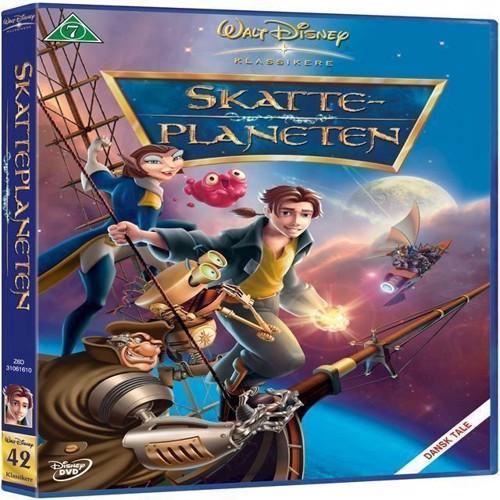 Disneys: Skatteplaneten Dvd