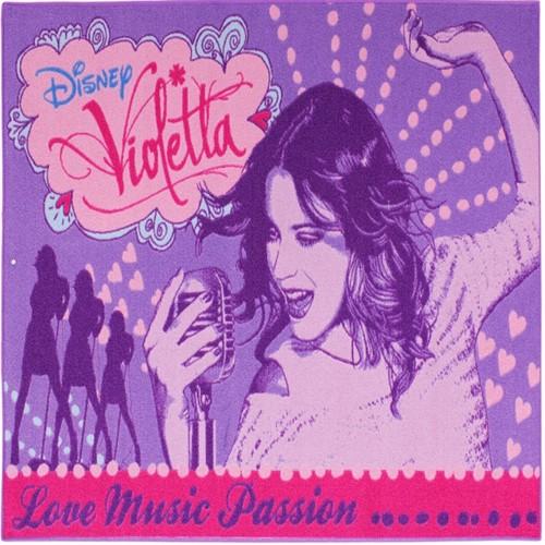 Image of Disney Violetta Børnetæppe 02, 95X133Cm