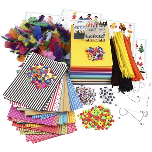 Image of Diy Kit Large Creative Package Of Materials And Templates