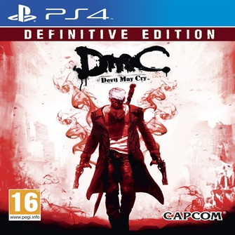 Image of Dmc Devil May Cry Definitive Edition - Ps4 (5055060930670)