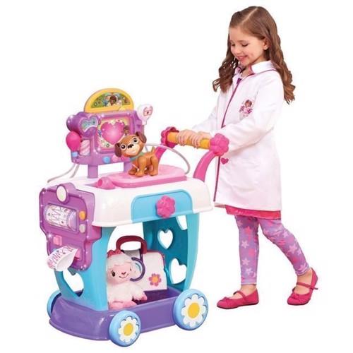 Image of   Doc McStuffins, hospitals vogn med læge legetøj
