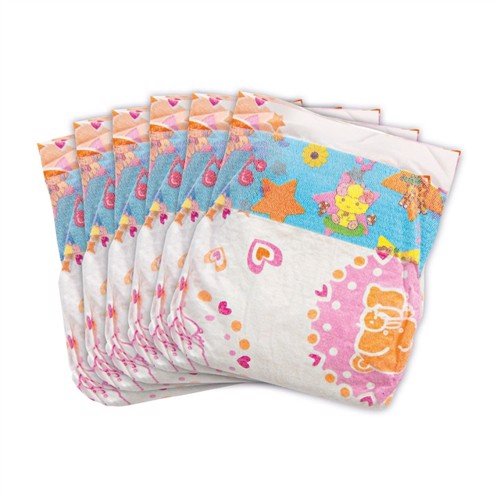 Image of Doll diapers - 6 pieces, 28-35 cm (4001949063756)