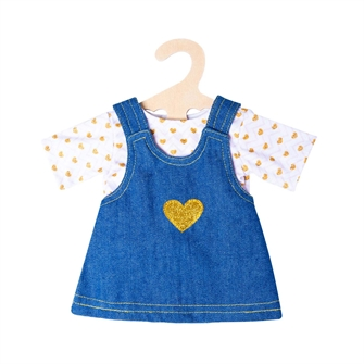 Image of Doll Dress with Golden T-Shirt, 35-45 cm (4001949020520)
