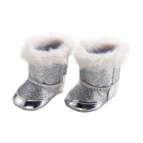 Image of Doll shoes Silver, 38-45 cm (4001949108440)
