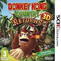 Donkey Kong Country Returns 3D Select - Nintendo 3DS