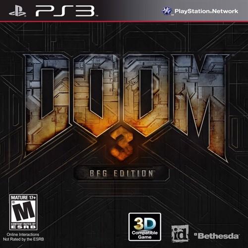 Image of Doom 3 BFG Edition (Import) - PS3 (0093155171084)