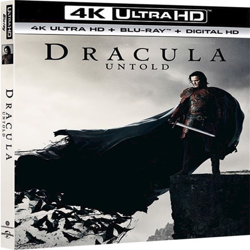 Image of   Dracula Untold 4K Blu-ray 2D Blu-ray