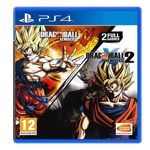 Image of Dragon Ball Xenoverse + Dragon Ball Xenoverse 2 - PS4 (3391892001754)