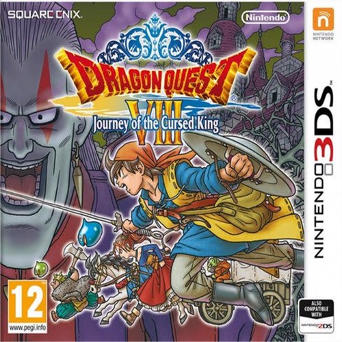 Image of Dragonquest VIII journey of the cursed king