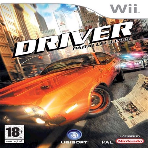 Image of Driver Parallel Lines - Wii