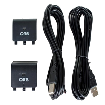 Image of   Dual Controller Charge and Play Battery Pack for Xbox One ORB - Xbox One
