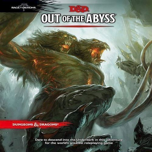 Image of Spil, Dungeon & Dragons - Role Play - 5th Edition Out of The Abyss (D&D)