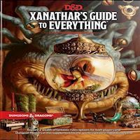 Dungeons and Dragons  Role Play  5th Edition Xanathars Guide to Everything