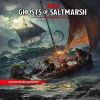 Dungeons  Dragons  5th Edition  Ghosts of Saltmarsh DD