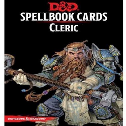 Image of Dungeons Dragons 5th Edition Spell Deck Cleric 149 cards DD