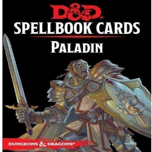 Dungeons Dragons 5th Edition Spell Deck Paladin 69 cards DD køber du billigt her.