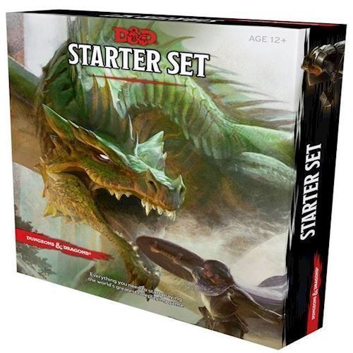 Image of Dungeons Dragons 5th Edition Starter Set DD