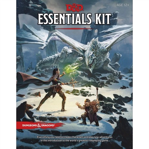 Image of dungeons dragons essentials kit 5th edition