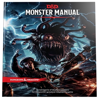 Image of Spil, Dungeons & Dragons - Monster Manual 5Th Edition (D&D)